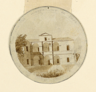 Drawing, A Farm House in Savoy