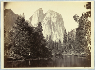 Photograph, Cathedral Rocks, Yosemite, 1861–66