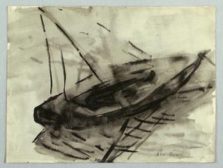 Drawing, Sailboat