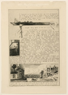 Print, Lettre sur les Eléments de la gravure á l'Eauforte (Letter on the elements of etching), Page 2
