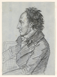 Drawing, Portrait of a Man