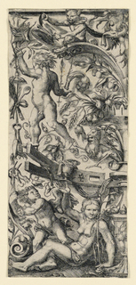 Print, Ornamental Design, ca. 1550