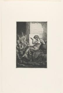 Print, Cleopatra (?), ca. 1860