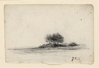 Drawing, Landscape, ca. 1870