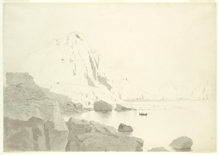 "Drawing, Study for ""Isle of Capri: The Faraglioni"""