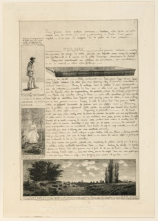 Print, Lettre sur les Eléments de la gravure á l'Eauforte (Letter on the elements of etching), Page 3