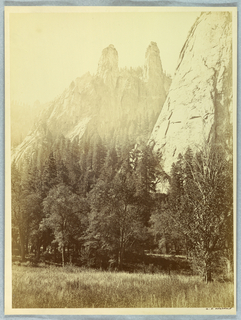 Photograph, Cathedral Spires, Yosemite, 1861–66