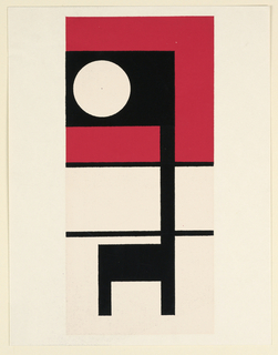 Print, Abstraction, 1953