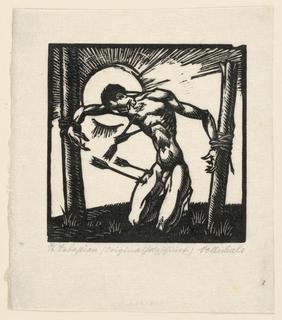 Print, St. Sebastian