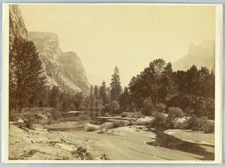 Photograph, Up the Valley, Yosemite, 1861–66
