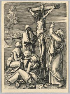 Print, Crucifixion, 1508