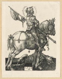Print, St. George on Horseback, 1508