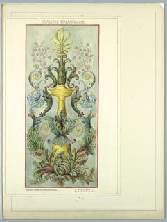 Portfolio, Historic Ornament, ca. 1900