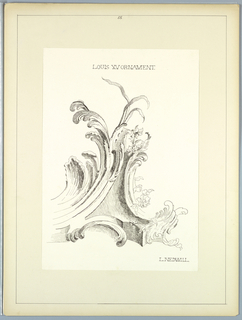 Portfolio, Historic Ornament, ca. 1900
