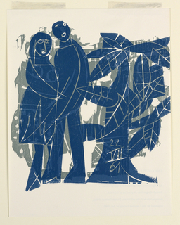 Print, The Couple, 1961