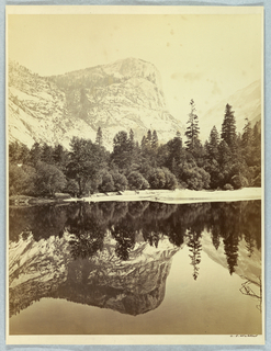 Photograph, Mirror View, Mount Watkins, 1861–66