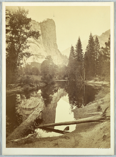 Photograph, Washington Column, Yosemite, 1861–66