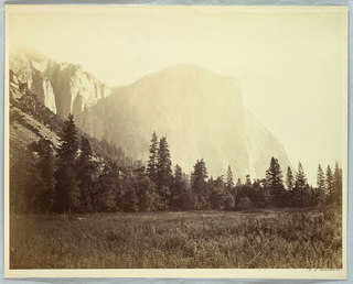 Photograph, El Capitan, Yosemite, 1861–66