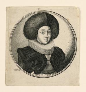 Print, Strasburg Woman, 1643