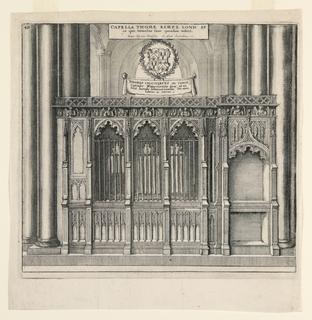 Print, Thomas Kempis Chapel