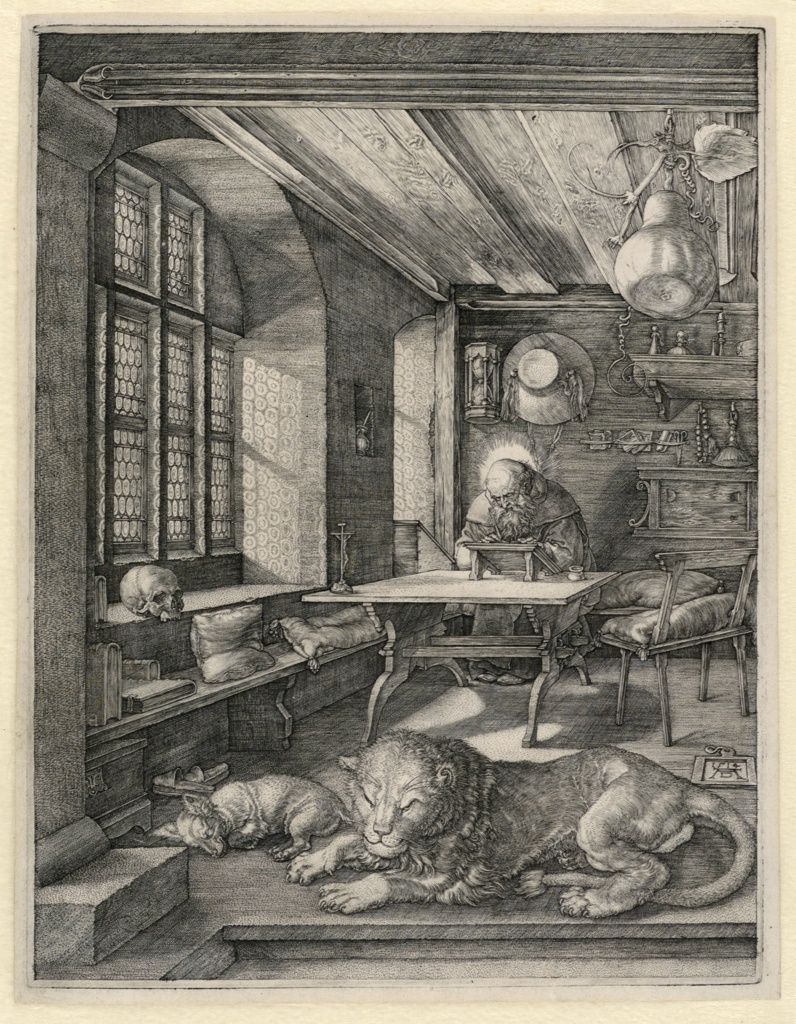Print, St. Jerome in his Study, 1514