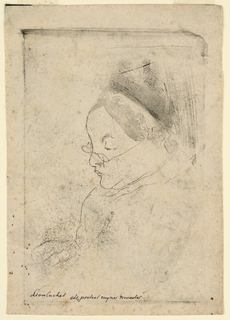 Print, Portrait of the Artist's Mother