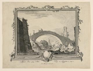 Print, Adsumto Puero Ejusq Matre Fuge in Aegyptum, 1721-1788