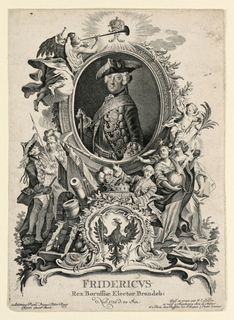 Frederick II (The Great) (1712–1786) King of Prussia (1740–1786) by Johann Esaias Nilson (1721–1788)