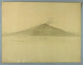 Sketch of Mt. Vesuvius.