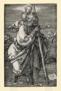 Print, St. Christopher, 1511