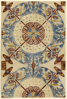 Drawing, Design for Tiles
