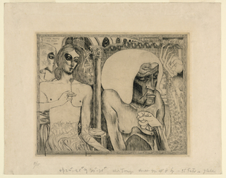 Print, Youth and Old Age, ca. 1895