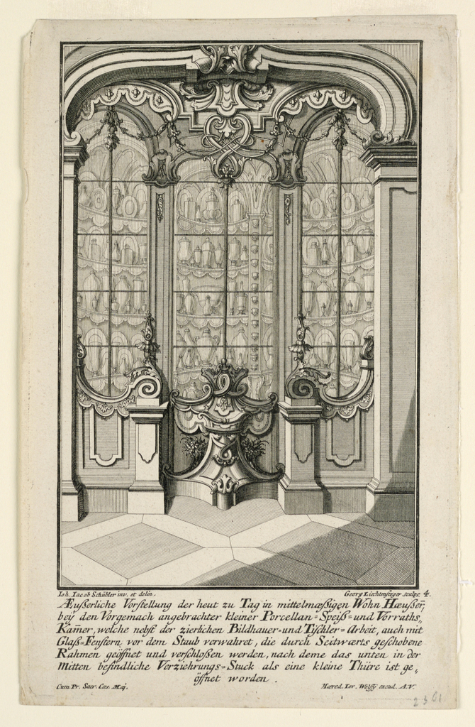 Print, View of China Pantry