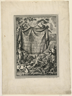 Print, Unterschiedlich Augspurgische Goldschmidts Arbeit, Suite 1, Title Page, 1721–40