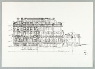 Drawing, Carnegie Embellishment