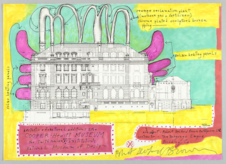 Embellishment, Carnegie Mansion Embellishment, ca. 1977