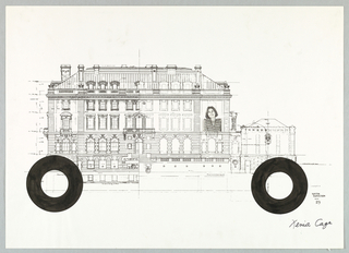 Drawing, Carnegie Mansion Embellishment, ca. 1978
