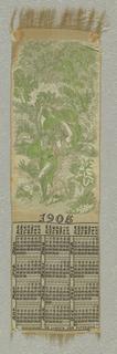Calendar (USA), 1905