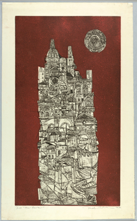 Print, The Tower, 1964