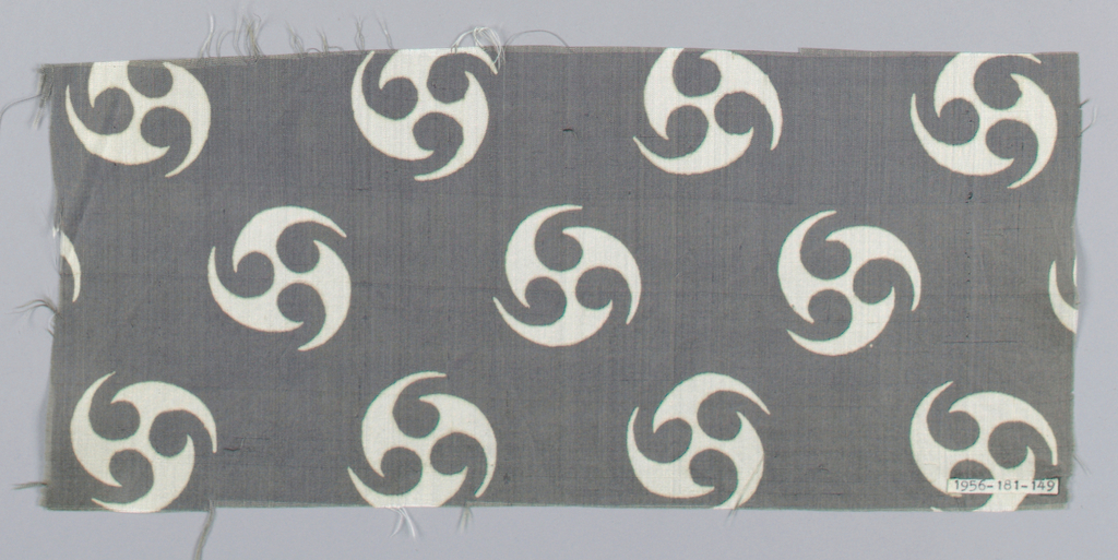 Same design as 1956-181-151, gray ground with white figure.