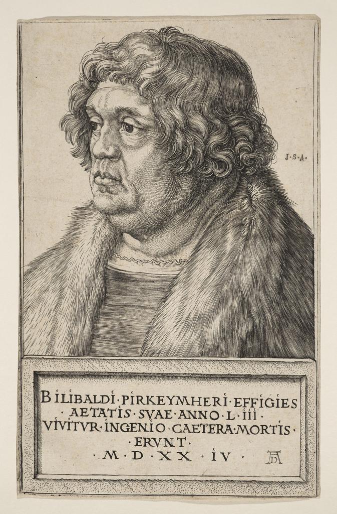 Print, Portrait of Wilibald Pirkheimer