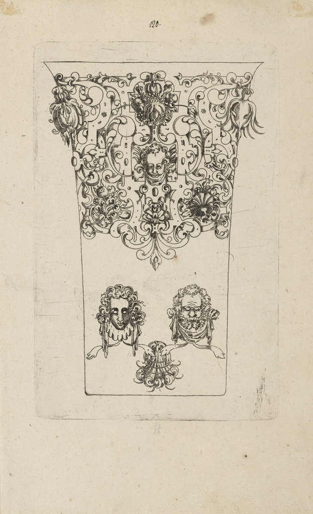 Print, Plate from 12 Stick Zum Verzaighnen Stechen Ver Fertigt  (Set of Twelve Designs for Engraved Vessels), 1580