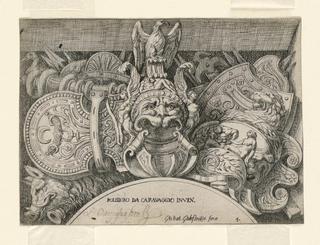 Print, Diverse Trophies, 17th century