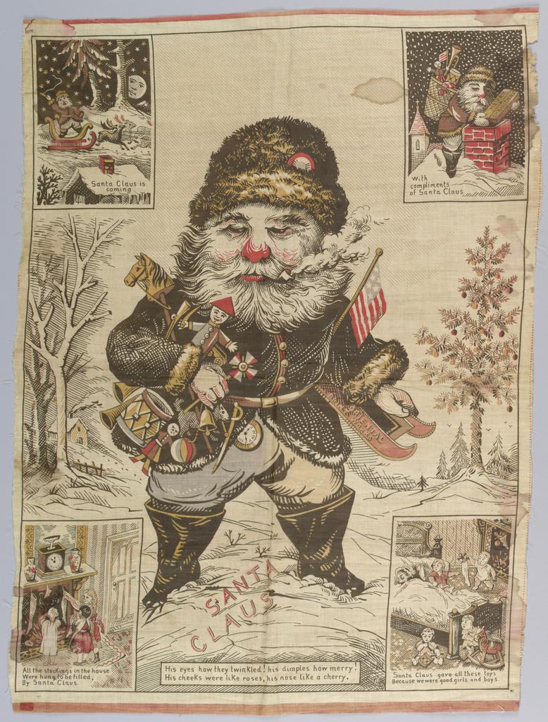Banner, Santa Claus