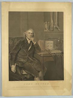 Print, Portrait of John Hunter, 1788