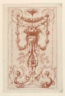 "Print, Arabesque Panel, from ""Re"