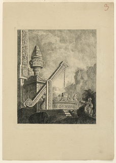 Print, Le Christ au puits de Samarie, 1768, published 1770