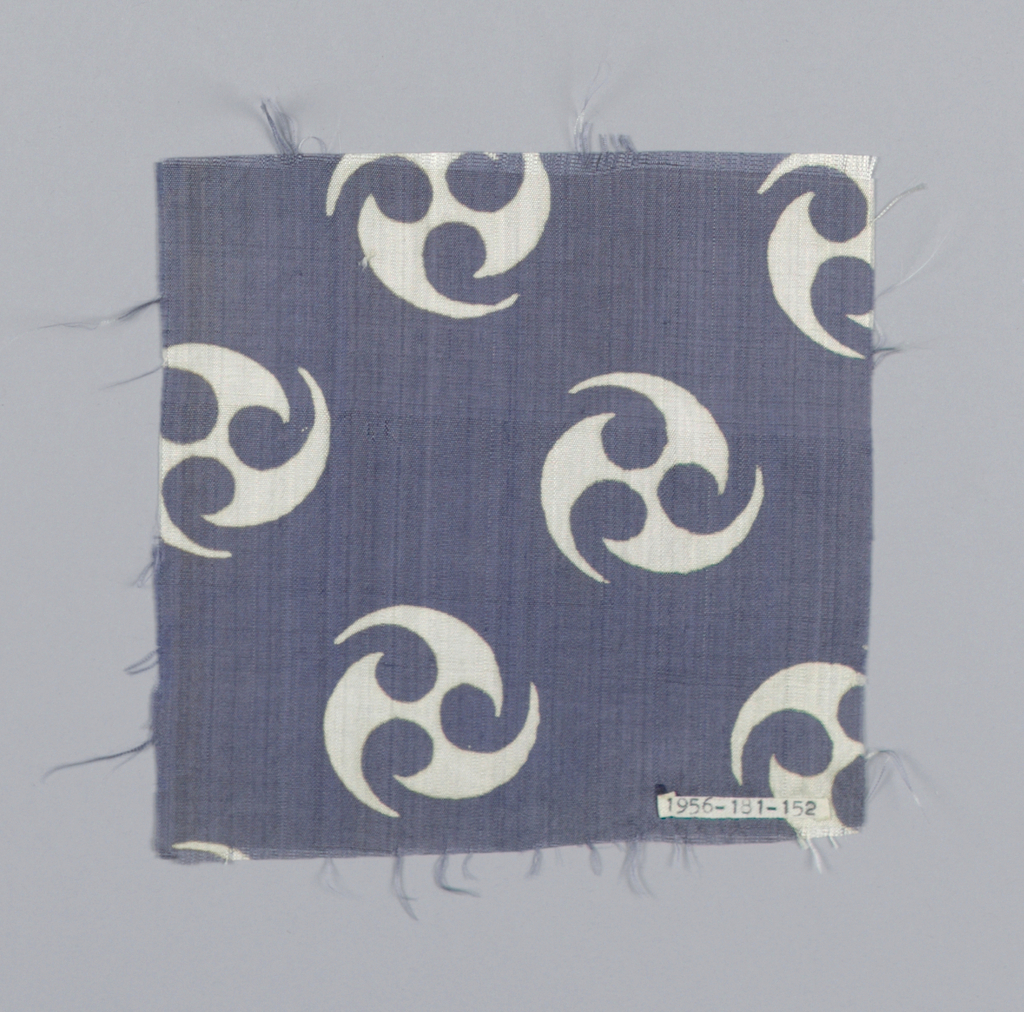 Same design as 1956-181-151, blue-gray ground with white figure.