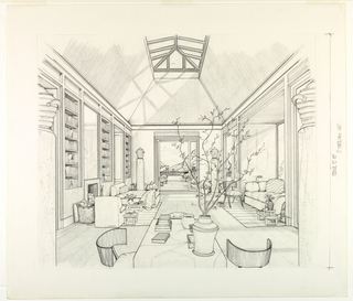 Drawing, Bedroom for Mr. Nicholas Carpenter
