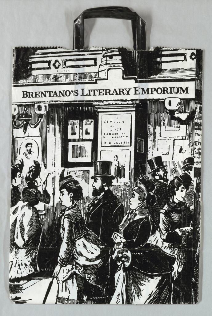 Shopping Bag, Brentano's Literary Emporium